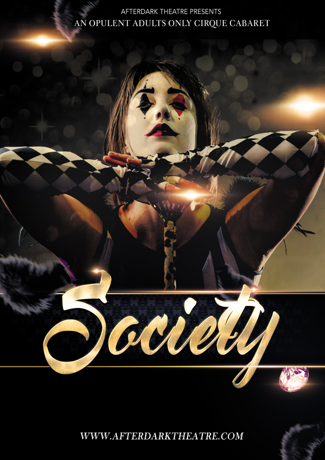 society floor show promotional poster