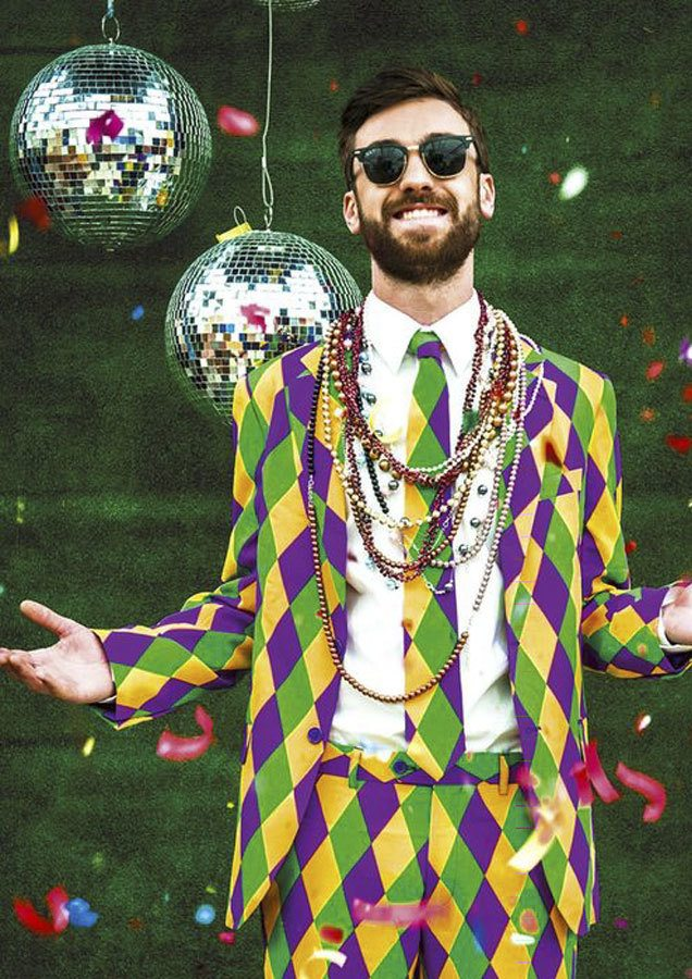 Mardi Gra new orleans style party event inspiration