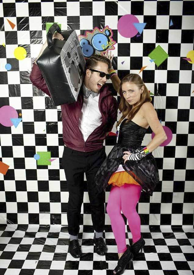80s party event ideas