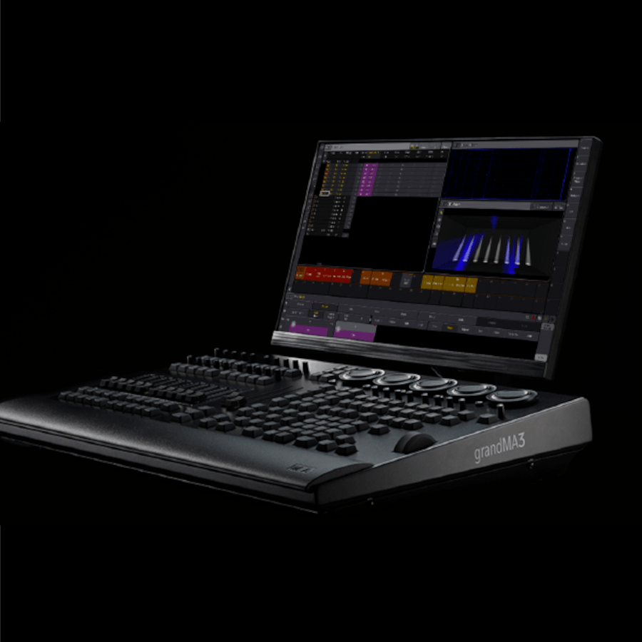 a dmx lighting console